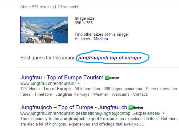 HOW TO FIND THE LOCATION OF AN IMAGE (2)