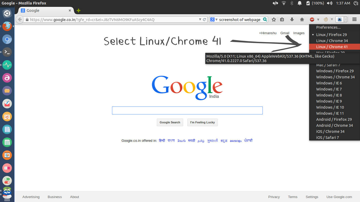 Select-Linux-Chrome-41