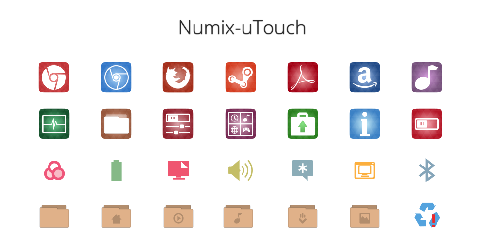 Numix utouch icon