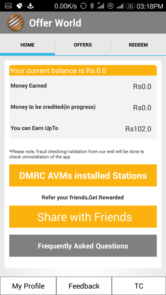 Free Recharge your Metro Smart Card